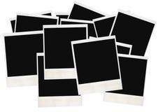 I retro polaroids hanno isolato Fotografie Stock Libere da Diritti