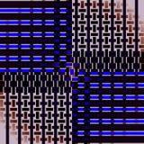 I rettangoli regolari modellano nero marrone blu scuro ed il beige spostati Fotografie Stock Libere da Diritti
