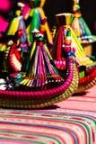 I ricordi dalle isole di galleggiamento del Titicaca Puno Peru South America fotografie stock libere da diritti