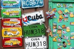 I ricordi per i turisti hanno esposto all'aperto Fotografia Stock Libera da Diritti