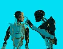 I robot Immagine Stock Libera da Diritti