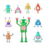 I robot hanno messo 4 Immagine Stock Libera da Diritti