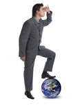 I rule the world 2 Royalty Free Stock Photos