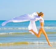 I run like white wind Stock Images