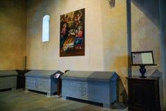 I sacri di San Michele, la chiesa immagine stock libera da diritti