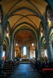 I sacri di San Michele, la chiesa fotografia stock libera da diritti