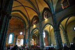 I sacri di San Michele, la chiesa immagini stock