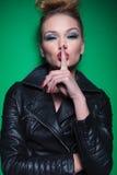 I said quiet! Stock Photography