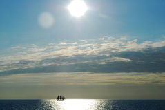 I am sailing Stock Photography