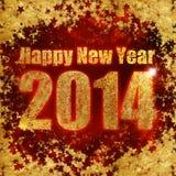 I saluti del nuovo anno Fotografia Stock Libera da Diritti