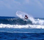 I Samoa praticanti il surfing Immagine Stock Libera da Diritti