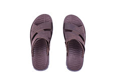 I sandali degli uomini Immagini Stock Libere da Diritti