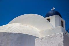 I Santorini Arkivfoton