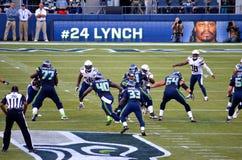 I Seattle Seahawks CONTRO San Diego Chargers 2014 Fotografie Stock Libere da Diritti