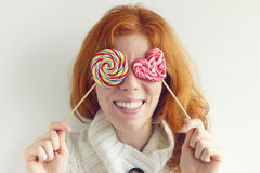 I see only Lollipops Stock Image