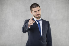 Free I See You, Business Man Pointing Stock Image - 39525021
