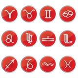 I segni dello zodiaco Fotografia Stock Libera da Diritti