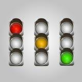 I semafori hanno impostato Immagine Stock Libera da Diritti