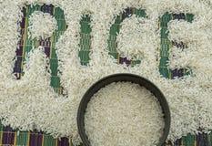 I semi del riso Fotografia Stock