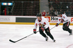 I senatori Players di Ottawa Fotografie Stock