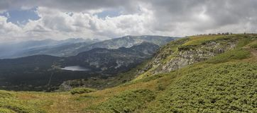 I sette laghi Rila, Bulgaria Fotografie Stock Libere da Diritti