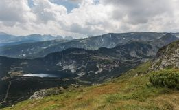 I sette laghi Rila, Bulgaria Immagini Stock