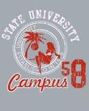 I shield university student Stock Photography