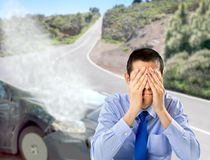 I should have hired car insurance Royalty Free Stock Photos