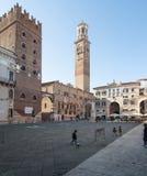 I signori Verona Veneto Italia Europa di dei della piazza Immagini Stock Libere da Diritti