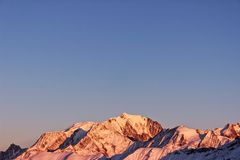My mountain, my world, the Mont Blanc royalty free stock photography