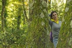 I skogen Royaltyfri Fotografi