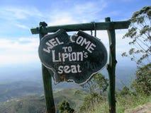 I Skotska högländerna av Sri Lanka Royaltyfri Bild