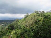 I Skotska högländerna av Sri Lanka Arkivbilder