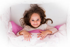 I slept well, good morning! Royalty Free Stock Photography