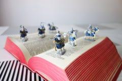 I soldati dalla storia prenota (II) Fotografia Stock Libera da Diritti