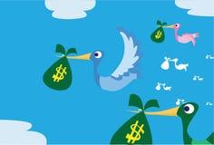 I soldi illustrazione vettoriale