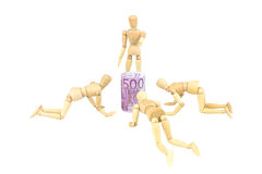 I soldi adorano Fotografie Stock Libere da Diritti