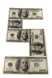 I soldi di carta Immagine Stock