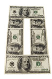 I soldi di carta Immagini Stock Libere da Diritti