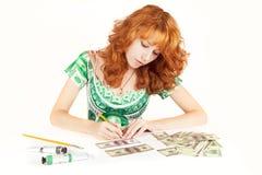 I soldi fanno i soldi Immagini Stock Libere da Diritti