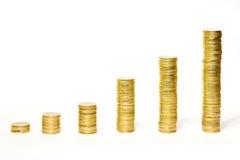 I soldi si sviluppano Fotografia Stock
