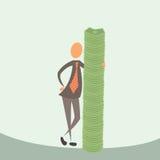 I soldi sono i miei amici Immagini Stock