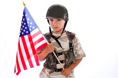 I am a soldier Royalty Free Stock Photo