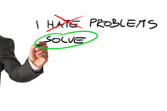 I solve problems Stock Photos