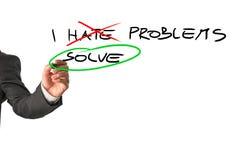 I solve problems Stock Photos