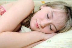 I sonni della ragazza Fotografia Stock Libera da Diritti