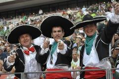I sostenitori del Portogallo Fotografie Stock
