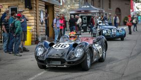 I Spa Francorchamps Spa sex timmar Woodcote trofé & Stirling Moss Trophy arkivfoto