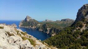 I Spanien Malloca Royaltyfria Bilder