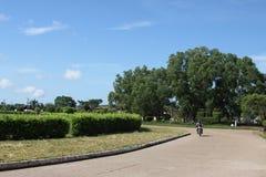 I staden San Jose del Guaviare royaltyfria foton